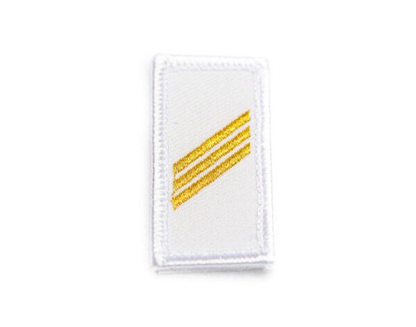 Gradabzeichen Obergefreiter weiss gold
