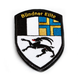 Bündner Elite Badge metallic-gold