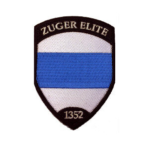 Zuger Elite Badge ( metallic-silber )